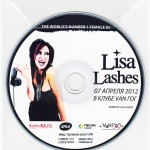 Lisa Lashes Promo CDs Van Gogh Club
