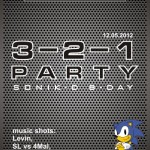 3-2-1 Party with DJ Sonik-D and 4Mal