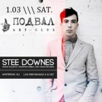 Stee Downes (Live Vocal Performance) at art-club Podval, Yekaterinburg