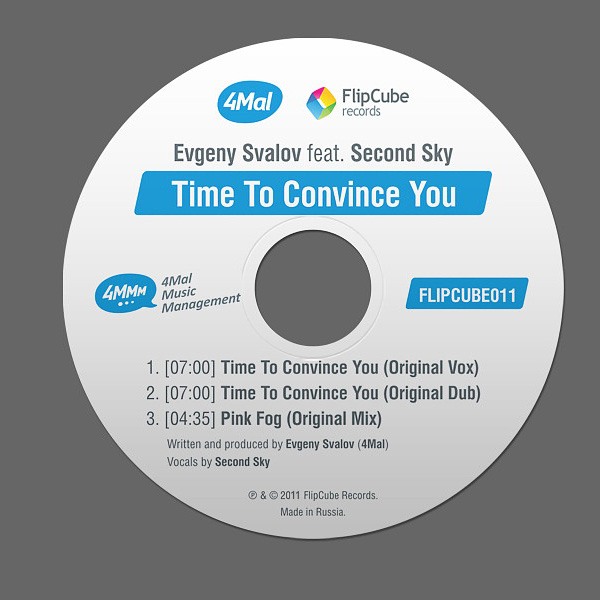 FLIPCUBE011: Evgeny Svalov (4Mal) feat. Second Sky — Time To Convince You
